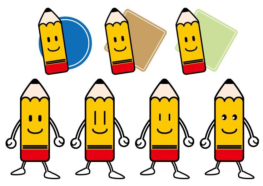 pencil_logo design